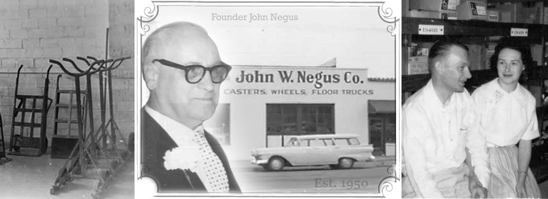 About History of John W. Negus Co. Portland Oregon